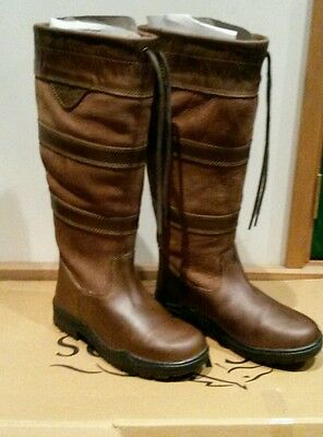 BNWT shires Charlbury yard riding boots size 4 37 extra wide calve  also git 4.5