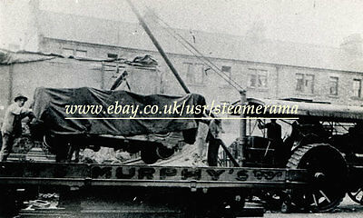 Fowler 15653 Showmans Engine, Steam Traction Engine Photograph