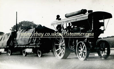 Fowler 13922 Showmans Engine, Steam Traction Engine Photograph