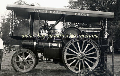 Fowler 14412 Showmans Engine, Steam Traction Engine Photograph
