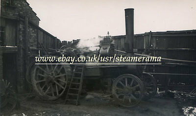 Burrell 3918 Traction Engine, Steam Traction Engine Photograph