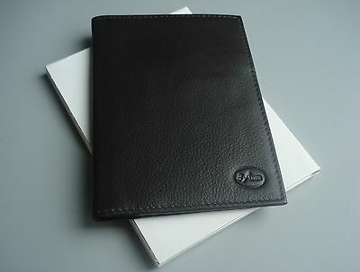REAL NAPA LEATHER Slimline Passport Holder Travel Wallet Cover Handcrafted
