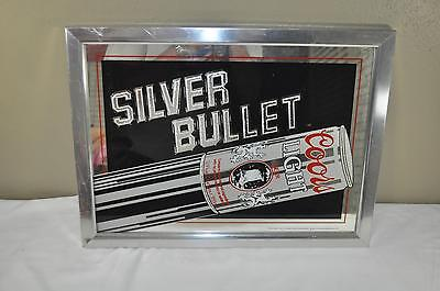 Coors Light Silver Bullet Mirror Sign 1983
