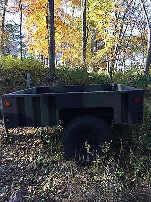 Very Nice 2010 Schutt Industries Utility (Army) Trailer