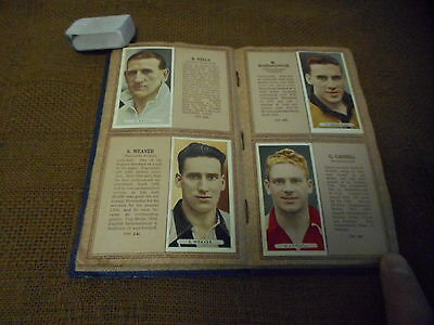 Cigarette Cards Completed Album Ardath Famous Footballers