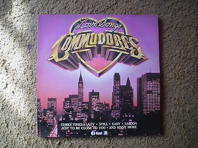 commodores love songs lp