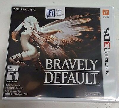 Bravely Default Nintendo 3DS NEW IN STOCK FREE SHIPPING
