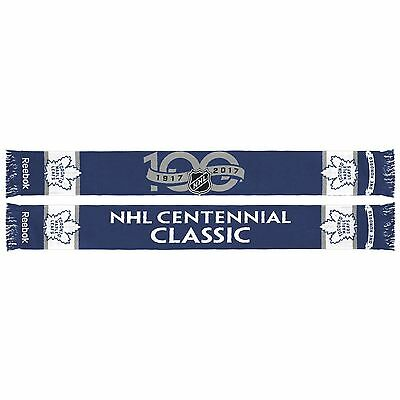 Toronto Maple Leafs 2017 NHL Centennial Classic Knit Scarf (One-Size)