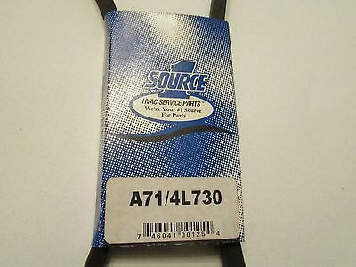 "NEW - One Source / Jason Industrial A71 / 4L730 FHP V-Belt 1/2"" x 73"""