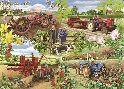 The House Of Puzzles - 1000 PIECE JIGSAW PUZZLE - Farming Year