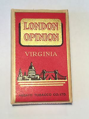 London Opinion Cigarette Box ~ Ardath Tobacco Co ~ AS NEW ~ Excellent Condition