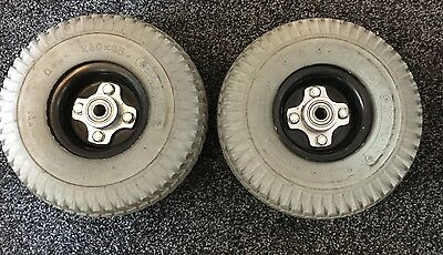 Mobility Scooter Wheels And Tyres / Front Set