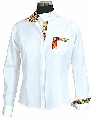 BAKER Ladies Elite Competition Long Sleeve Show Shirt - ID# 9609-669/01