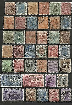 Lot de timbres ancien Italie