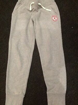girls converse grey joggers age 12-13