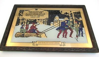 Bossert Corp. Framed Vintage Holiday Season Picture