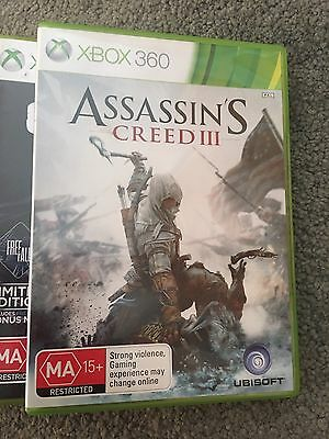 Assassin's Creed III 3 Multiplayer (Disc2) Xbox 360 Rating MA15+