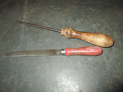 Old  Vintage Special  Screw  Driver - 1/2  Moon  File  Wiltshire W--Good Order