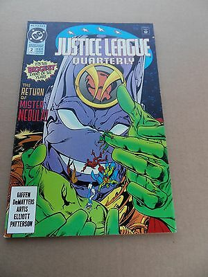 Justice League  Quaterly  2  . DC  1991 -     FN / VF