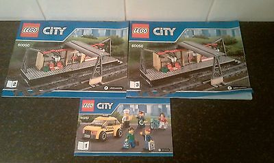 lego 60050 instructions books only