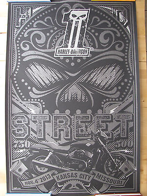 Harley-Davidson Limited Edition Employee Exclusive Poster Print Heavy Stock