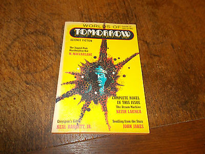 Worlds of Tomorrow Science Fiction magazine  Winter 1970  vintage - rare