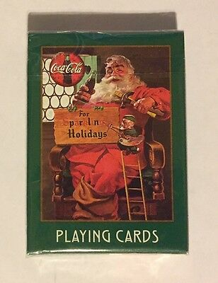 1998 Coca Cola Coke Santa Clause Playing Cards NEW