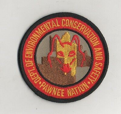 Pawnee Nation Oklahoma Environmental Conservation Ranger Patch