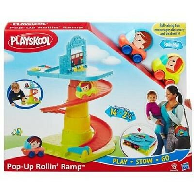 New Hasbro Playskool Pop Up Rolln' Ramp B1649