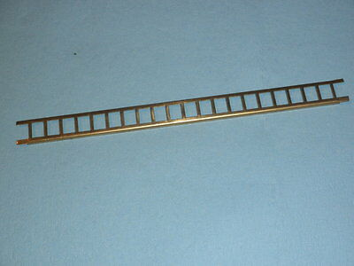"10"" long Brass Ladder for American Flyer, cut and use on 4021 Caboose and others"