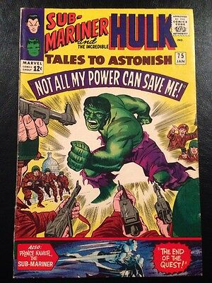 TALES TO ASTONISH #75 FN- 5.5 Grade