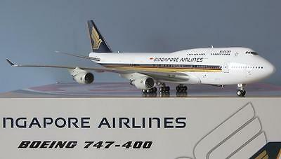"1:200 Inflight SINGAPORE AIRLINES Boeing 747-400 ""Megatop"" 9V-SMJ RARE Sold Out!"