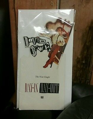 David Bowie Record Store Promotional Display Card
