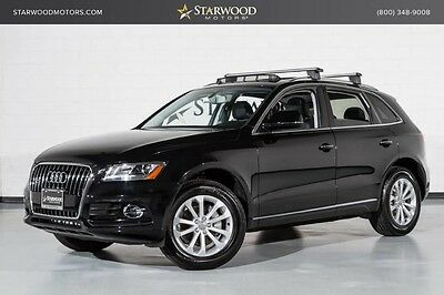 2016 Audi Q5  18 Alloys Removable Accessory Rack Power Seats Automatic Factory Warranty