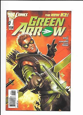 Green Arrow #1 new 52 (2011) - NM or better, 1st Print, bagged and boarded