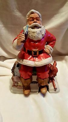 1993 Limited Edition Coca Cola Melody in Motion Santa Claus