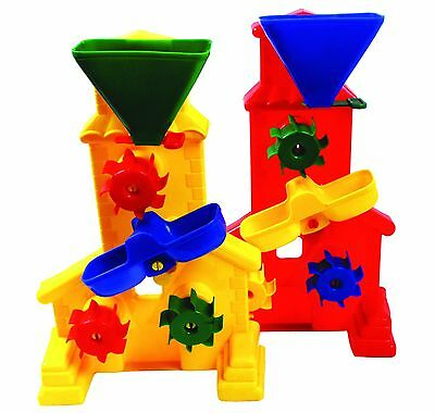 Giant WATER WHEEL bath toy sandpit toy educational toys funnel baby beach games