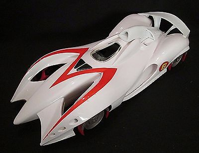 "Hot Wheels SPEED RACER 15"" DELUXE MACH 6 Car w/ Engine Sound Effects 2008"