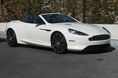 2014 Aston Martin DB9 Volante in White with only 3,726 miles! 2014 ASTON MARTIN DB9 VOLANTE IN WHITE WITH BLACK LOW MILES