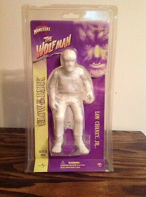 Universal Monsters Lon Chaney The Wolfman Glow In The Dark Series One