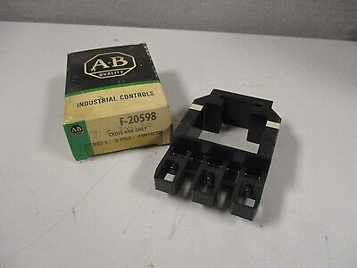 New Allen Bradley F-20598 Size 1 3 Pole Contactor Cross Bar F20598