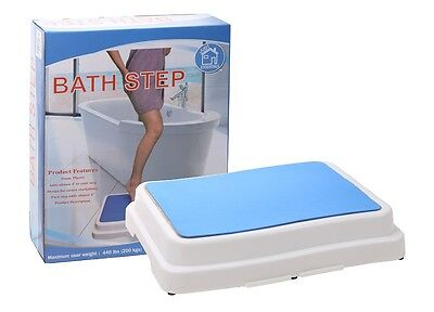 Mobility Aid Non Slip Elderly Disability People Support Bath Step