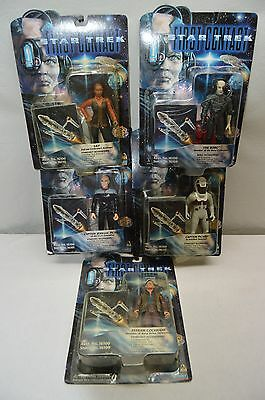 Playmates Star Trek First Contact Action Figures Lot Of 5
