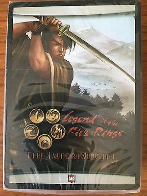 L5R Legend of the Five Rings The Imperial Gift 1 - Complete New Set Sealed Promo