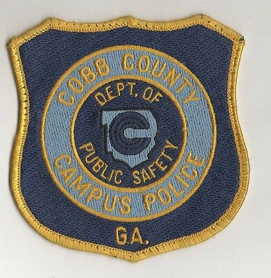 Cobb County Community College Georgia Campus Police Patch