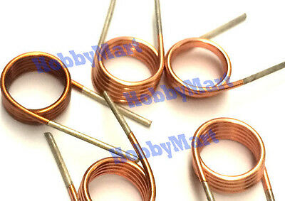 6mm Metal Spring Cylindrical Heldl Torsion Spring x 5 pcs