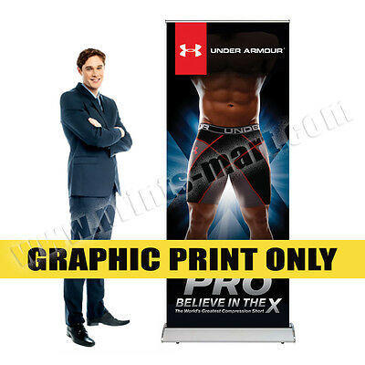 Banner Printing Replacement Graphics for Retractable Roll Up Banner Stands