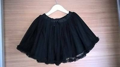 Gorgeous girls black H & M tutu Christmas party age 7-8 in good used condition