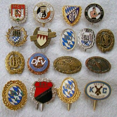 17 Pins - Nadeln - Sport - Lot - interessant - Art. 6241