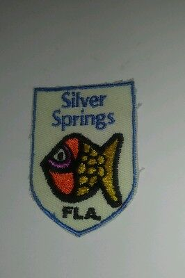 Vintage PATCH -  FLORIDA'S SILVER SPRINGS